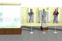 Дизайн секции продажи аксессуаров и бижутерии в г. Балаково