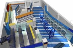 Дизайн магазина-склада автозапчастей «Веха»