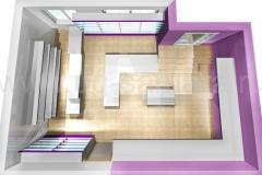 Дизайн интерьера магазина аудио-видео бытовой техники «Контраст»