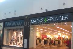 """Рекламная вывеска для сети магазинов """"MARKS & SPENCER"""""""