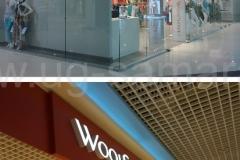 """Вывеска для магазина женской одежды """"Wool Street"""""""