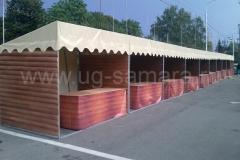 Торговые павильоны для сельскохозяйственной ярмарки в Самаре