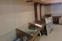 Музейная витрина для средней школы N45 в Самаре