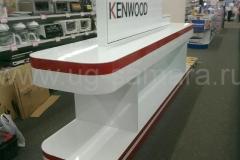 Торговая стойка Кенвуд «KENWOOD» г. Саратов.